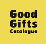 Logo for the 'Good Gifts' charity website